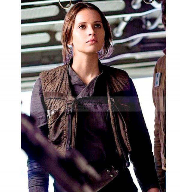 Star Wars Rogue One Jyn Erso Vest Jacket
