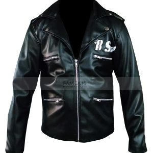 F&H Men's George Michael Faith Rockers Revenge Jacket