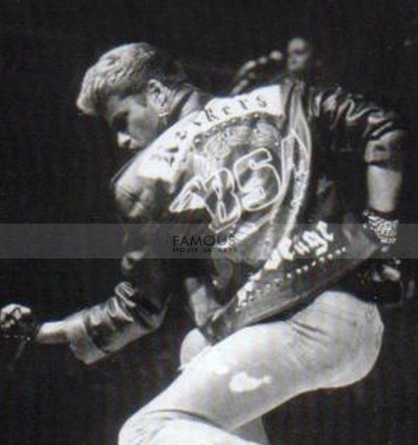 F&H Men's George Michael Faith Rockers Revenge Jacket