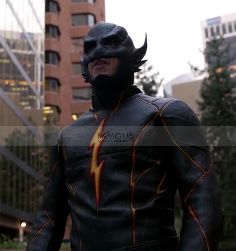 The Flash Season 3 Edward Clariss The Rival Flashpoint Costume Jacket