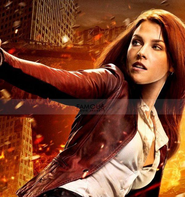 Ali Larter Resident Evil Final Claire Leather Jacket