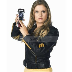 Power Rangers Rose Mciver Leather Jacket