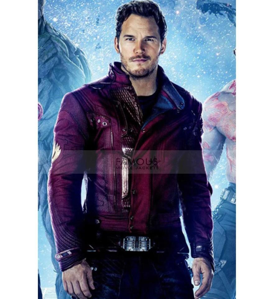 Guardians Of The Galaxy Chris Pratt Jacket