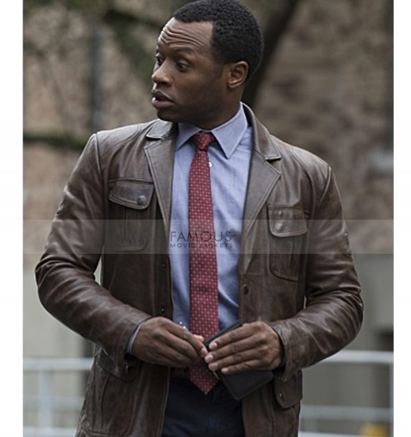 Clive Babineaux Leather Jacket