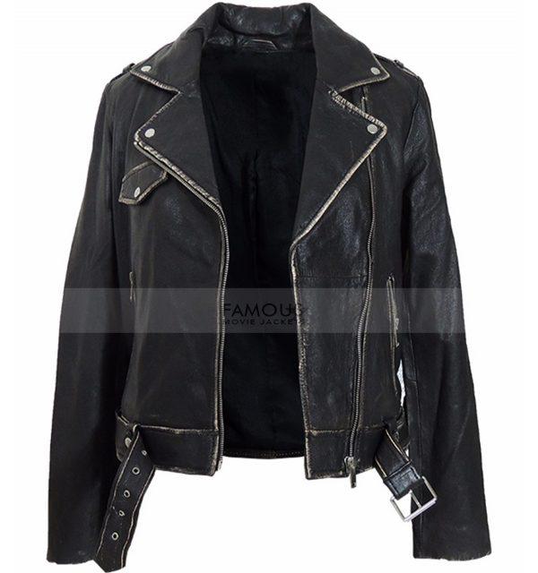motorcycle slim fit jacket