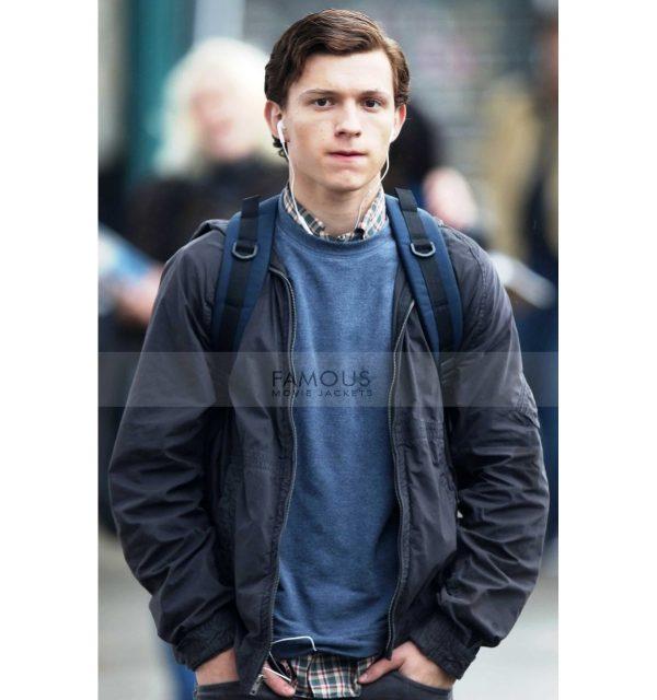 Tom Holland Spiderman jacket
