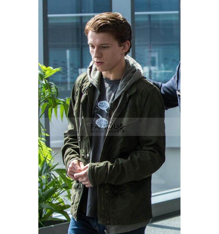 Spiderman Tom Holland Jacket