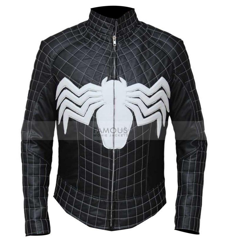 Spiderman costume biker jacket