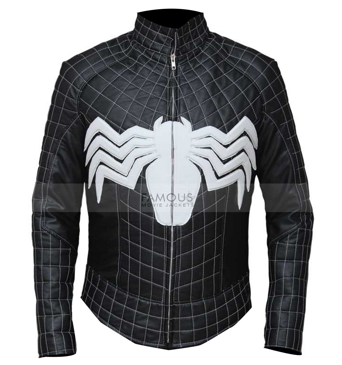 Spiderman costume biker jacket