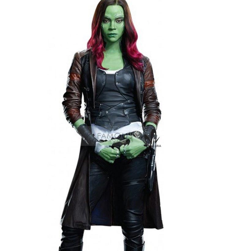 Guardian of the galaxy Zoe Saldana Coat