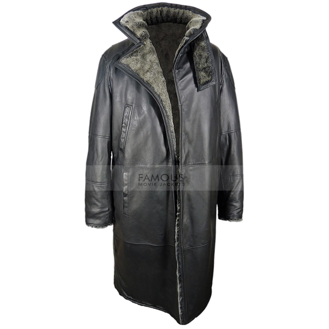 Blade Runner 2049 Ryan Gosling Officer Leather Coat