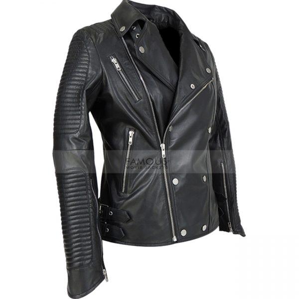 Burberry Prorsum Ali Larter Leather Jacket