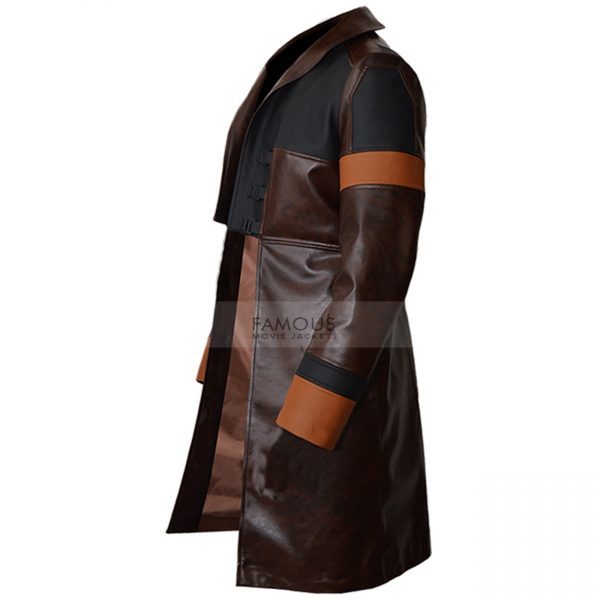 Guardians of the Galaxy Gamora trench coat