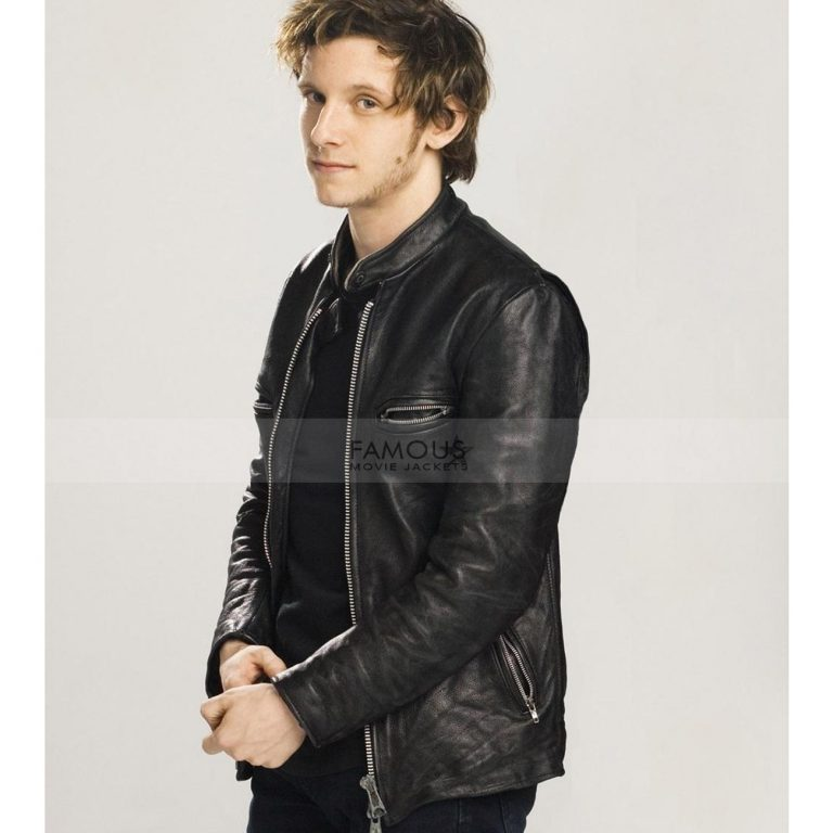 Griffin Leather Jacket
