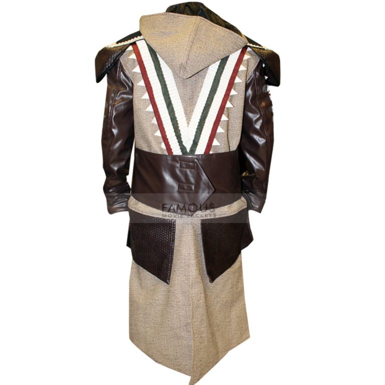 Assassin's Creed Michael Fassbender Aguilar Leather Coat