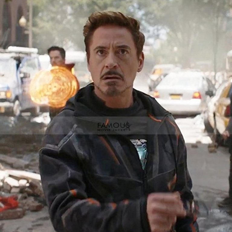 Robert Downey Iron Man Camo Jacket