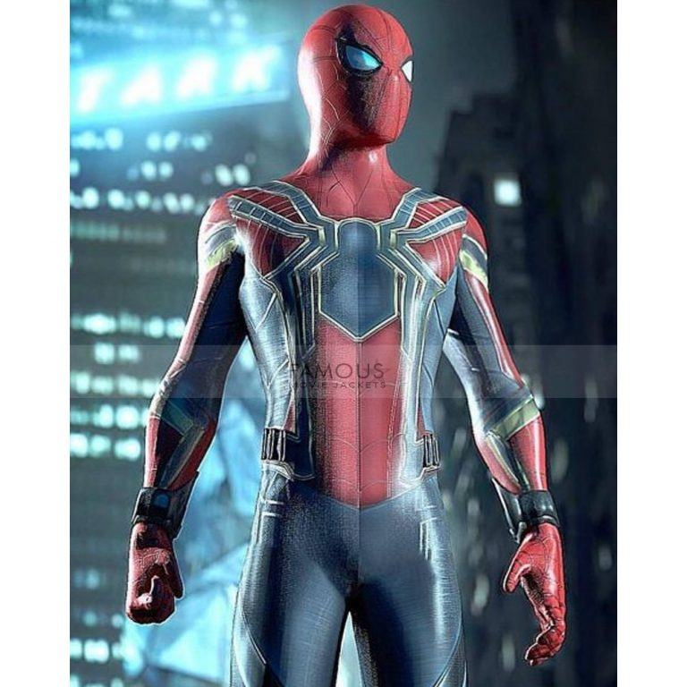 Spiderman Avengers Infinity War Iron Spider Jacket