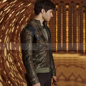 Krypton Seg El Leather Jacket