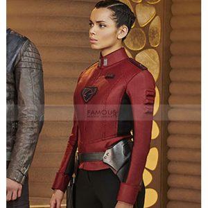 Krypton Lyta Zod Georgina Campbell CostumeJacket