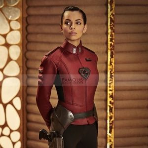 Krypton Lyta Zod Georgina Campbell Costume Jacket