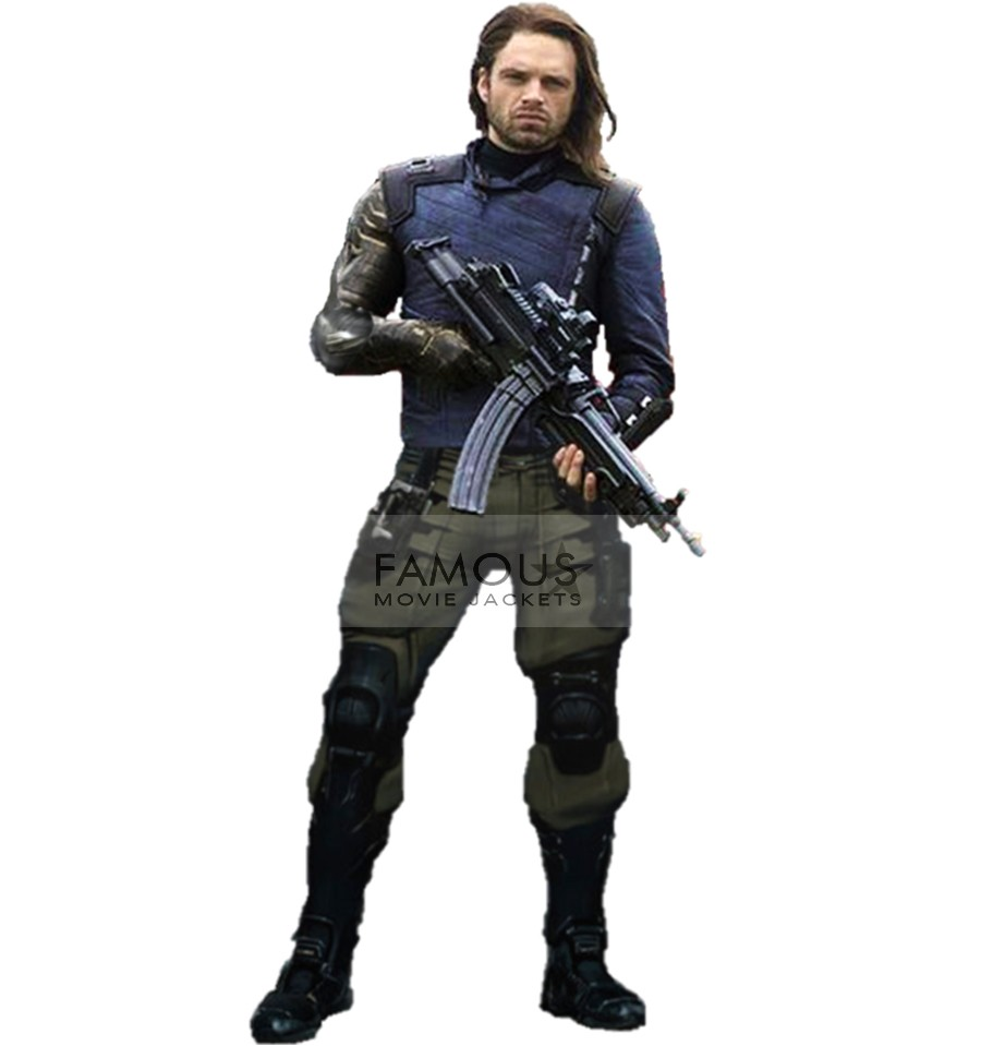 Winter Soldier White Wolf Avengers Infinity War Jacket
