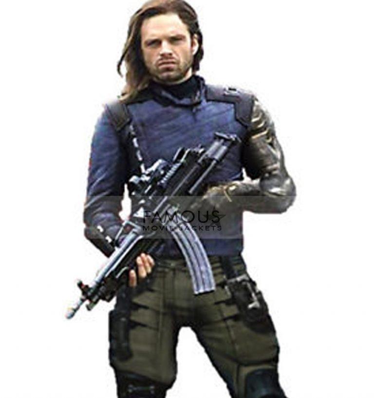 Winter Soldier White Wolf Avengers Infinity War Jacket
