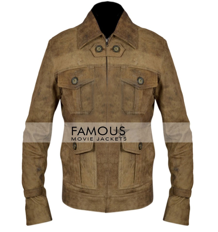 The Expendables 2 Film Jason Statham Leather Jacket-All Size are Available.