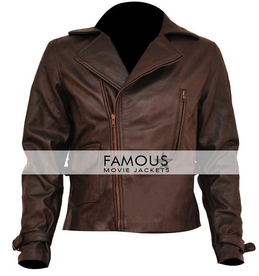 0f905ab4a34 Captain America Chris Evans Brown Jacket - Designer Leather Jackets ...