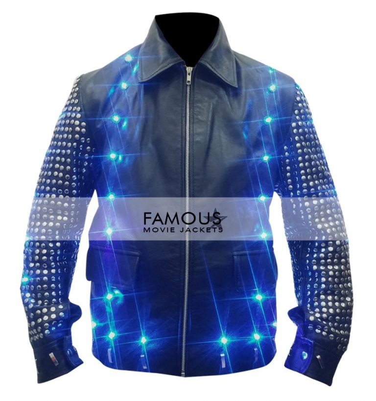 wwe chris jericho light  replica jacket  sale designer leather jackets  mens